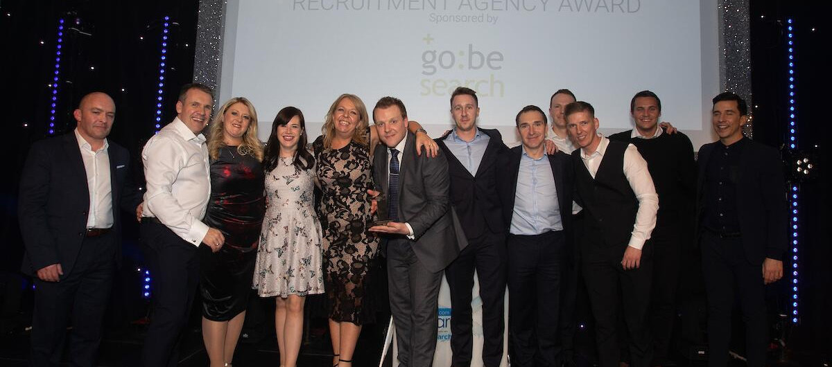 Reed Scotland after winning Best Large Recruitment Agency