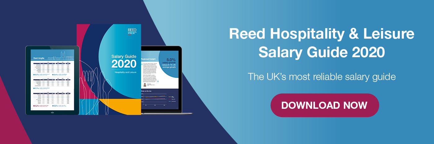 Download Reed Hospitality and Leisure Salary Guide now