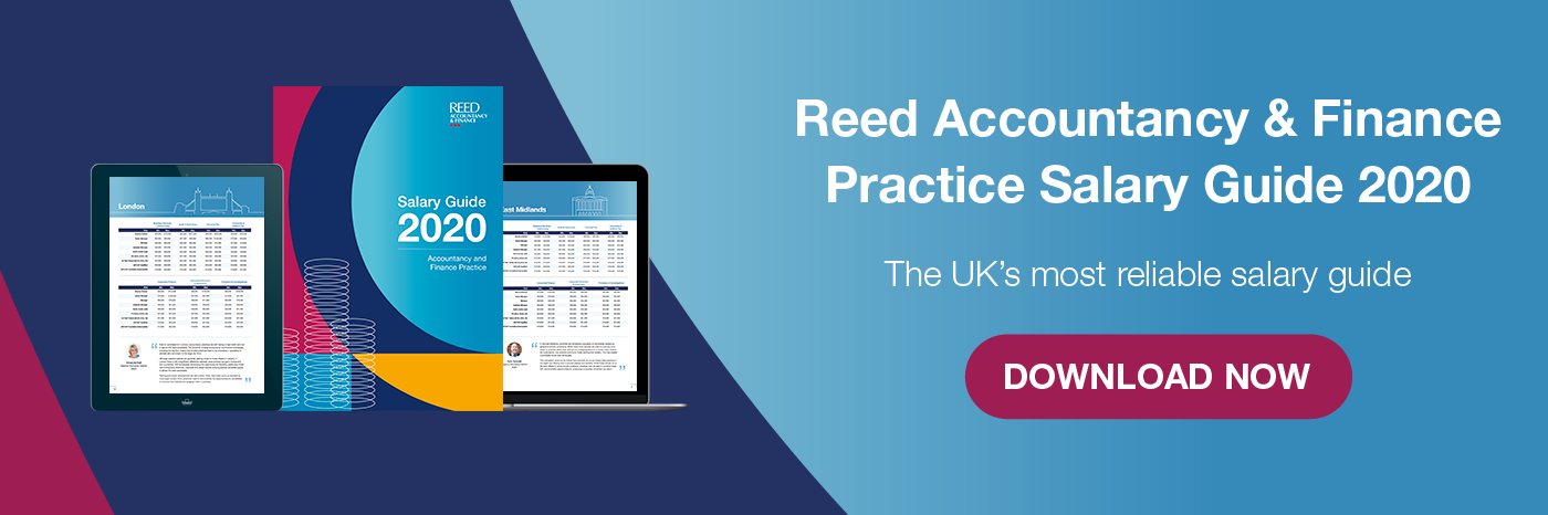 Download Reed Accountancy & Finance Practice Salary Guide now