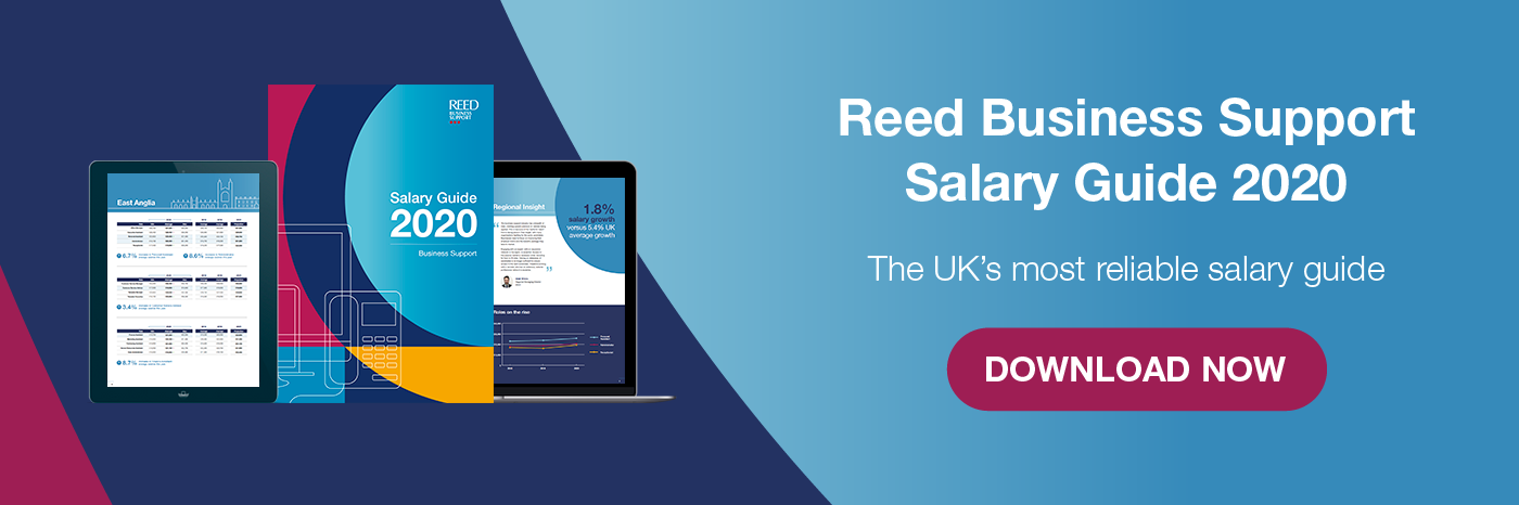 Download Reed Business Support Salary Guide now