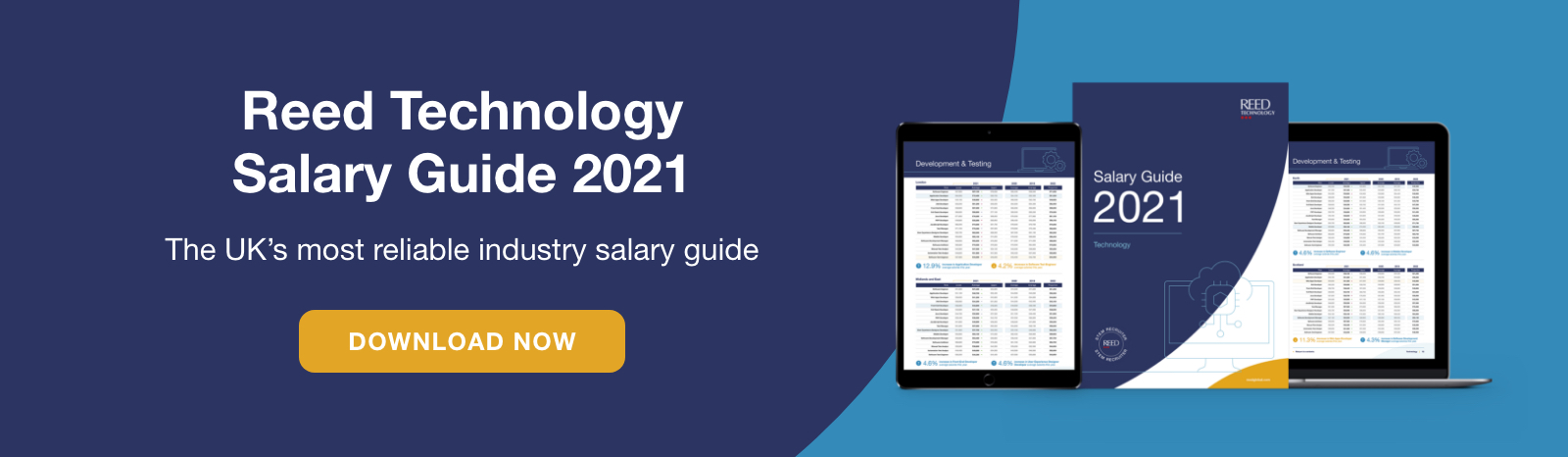 The Reed Technology 2021 Salary Guide features the IT salary data you need to understand the market rate and know your worth
