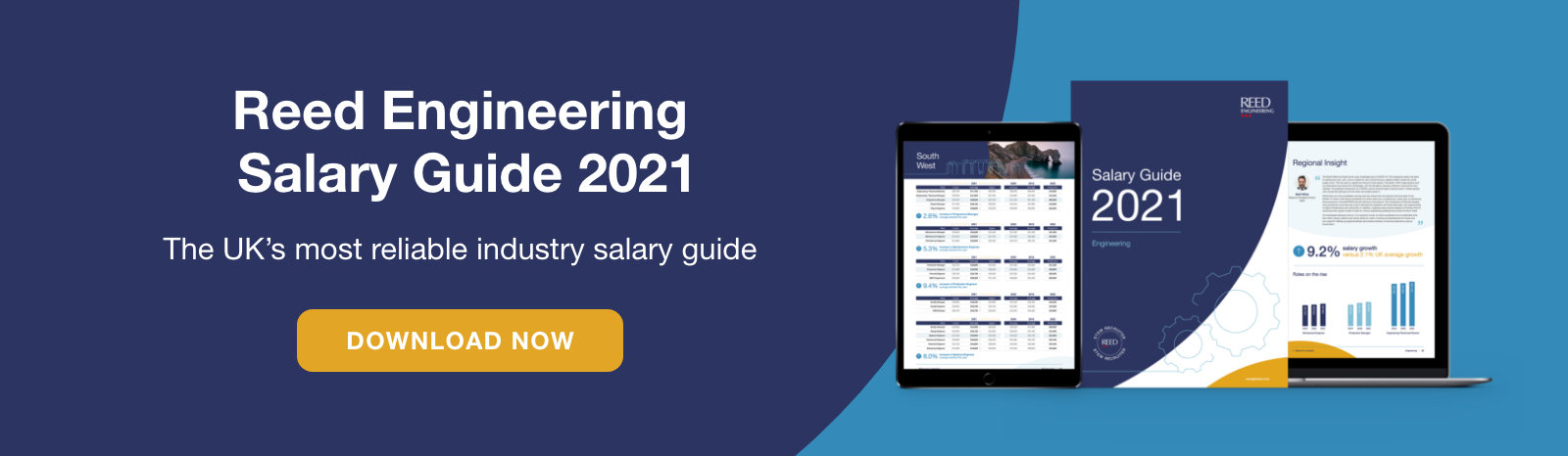 The Reed Engineering 2021 Salary Guide features the engineering and manufacturing salary data you need to understand the market rate and know your worth